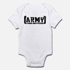 Proud Army BF - Tatterd Style Infant Bodysuit