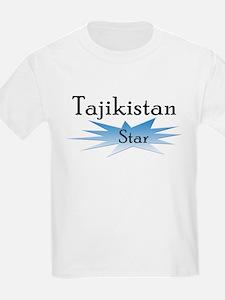 Tajikistan Star T-Shirt