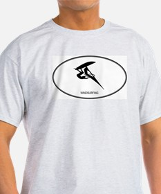 Windsurfing (euro-white) T-Shirt