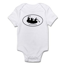 White Water Rafting (euro-whi Infant Bodysuit