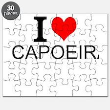 I Love Capoeira Puzzle