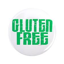 """Gluten Free 1.1 (Mint) 3.5"""" Button (100 pack)"""