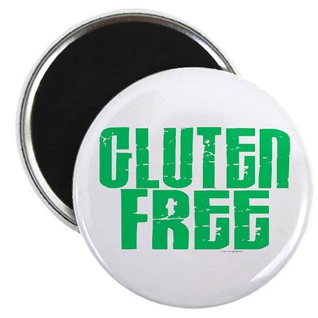 "Gluten Free 1.1 (Mint) 2.25"" Magnet (100 pack)"