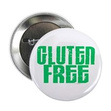 "Gluten Free 1.1 (Mint) 2.25"" Button (100 pack)"