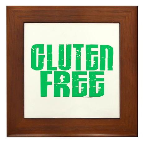 Gluten Free 1.1 (Mint) Framed Tile