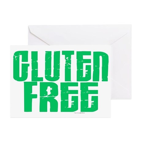 Gluten Free 1.1 (Mint) Greeting Cards (Pk of 20)
