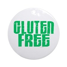 Gluten Free 1.1 (Mint) Ornament (Round)