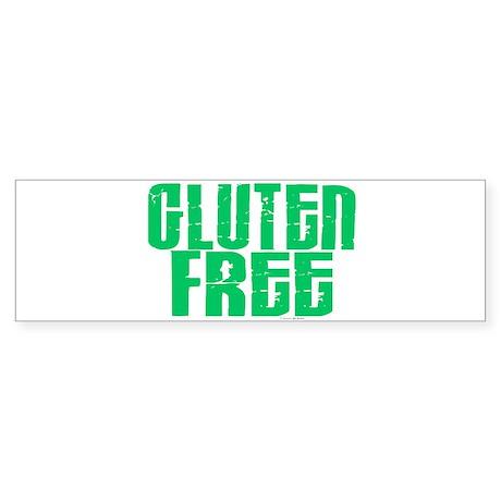 Gluten Free 1.1 (Mint) Bumper Sticker