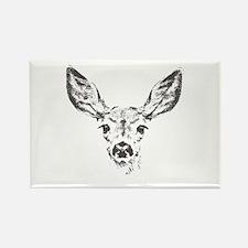Fawn deer Rectangle Magnet