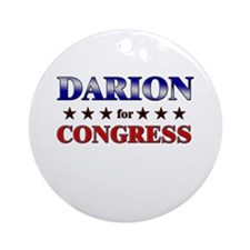 DARION for congress Ornament (Round)