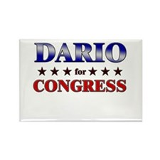 DARIO for congress Rectangle Magnet