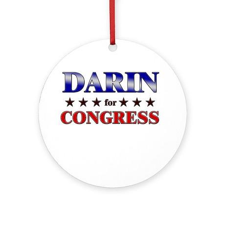 DARIN for congress Ornament (Round)