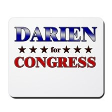 DARIEN for congress Mousepad