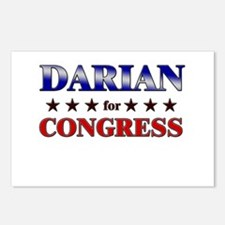 DARIAN for congress Postcards (Package of 8)