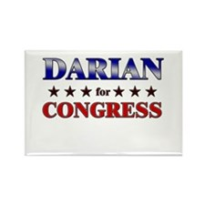 DARIAN for congress Rectangle Magnet