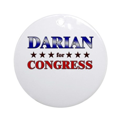 DARIAN for congress Ornament (Round)