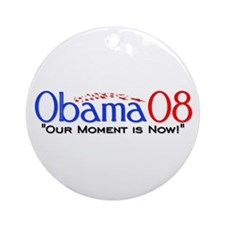 """Obama Now"" Ornament (Round)"