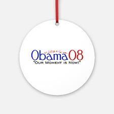 """Obama Now"" Ornament (Round)"