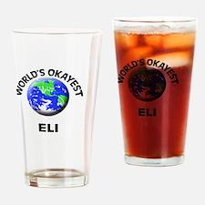 World's Okayest Eli Drinking Glass