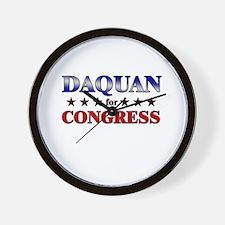 DAQUAN for congress Wall Clock