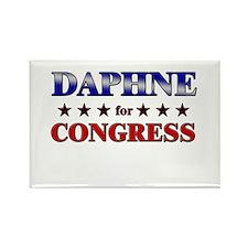 DAPHNE for congress Rectangle Magnet