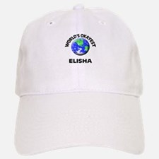 World's Okayest Elisha Baseball Baseball Cap