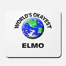 World's Okayest Elmo Mousepad