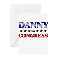 DANNY for congress Greeting Card