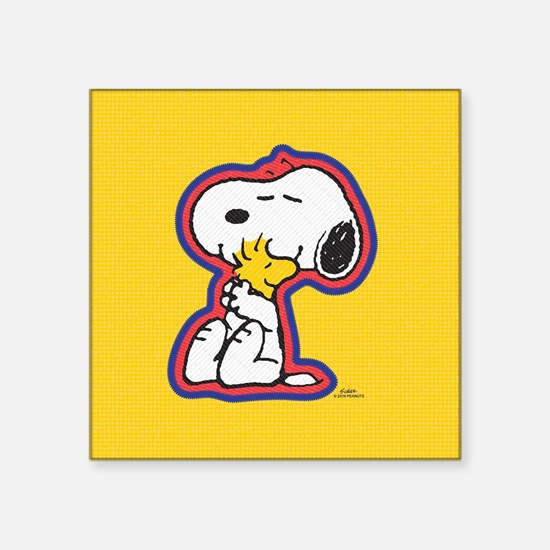 Peanuts Flair Snoopy Sticker