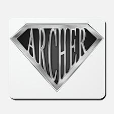 SuperArcher(metal) Mousepad
