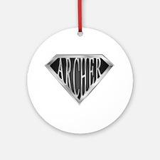 SuperArcher(metal) Ornament (Round)
