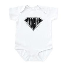SuperArcher(metal) Infant Bodysuit