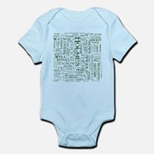 Hound of the Baskervilles Word Cloud Body Suit