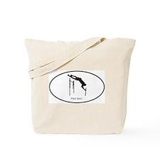 Pole Vault (euro-white) Tote Bag