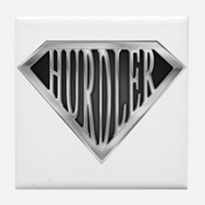 SuperHurdler(metal) Tile Coaster