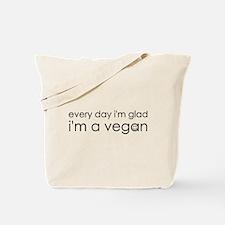 Glad Vegan Tote Bag
