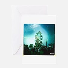 Roo Ferris Wheel Greeting Cards