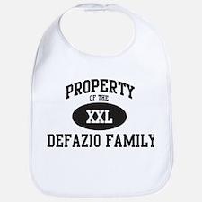 Property of Defazio Family Bib