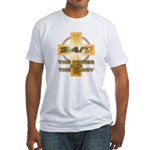 24/7 Christian Fitted T-Shirt