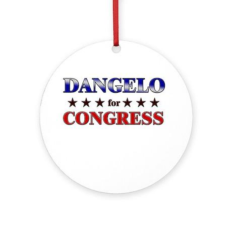 DANGELO for congress Ornament (Round)