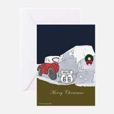 Route 66 Christmas Greeting Cards (Pk of 20)