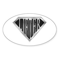 SuperLifter(metal) Oval Decal
