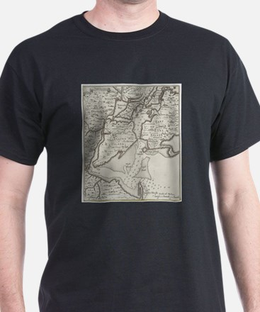 Vintage Staten Island & NYC Harbor Map (17 T-Shirt
