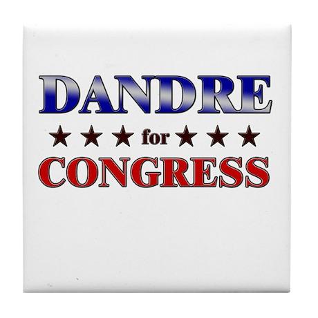 DANDRE for congress Tile Coaster