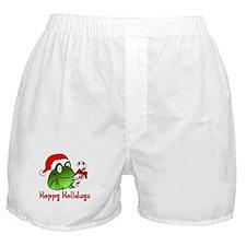 Frog Santa Boxer Shorts