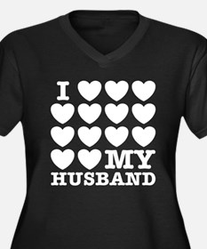 lovelovehusband3 Plus Size T-Shirt