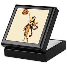 DancerWithFan Keepsake Box