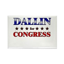 DALLIN for congress Rectangle Magnet