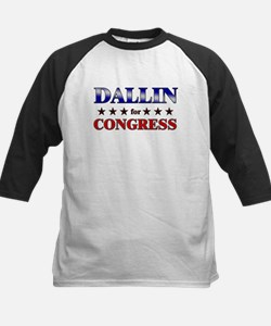 DALLIN for congress Kids Baseball Jersey
