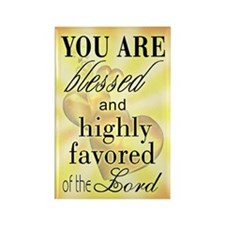 Blessed & Highly Favored Magnet